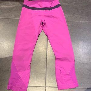 Lulu lemon 3/4 crop leggings
